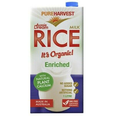 Pureharvest Organic Aussie Dream Rice Milk 1L