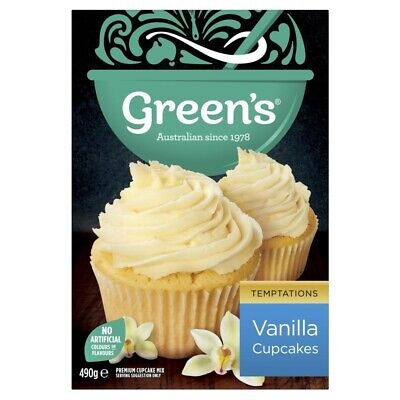 Green's Vanilla Cupcake Mix 490g