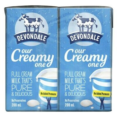 Devondale Full Cream Multipack Long Life Milk 200mL 6 pack