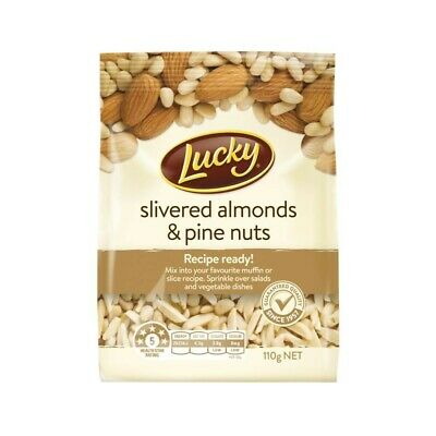 Lucky Slivered Almonds & Pine Nuts 110g