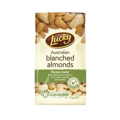 Lucky Blanched Almonds 110g
