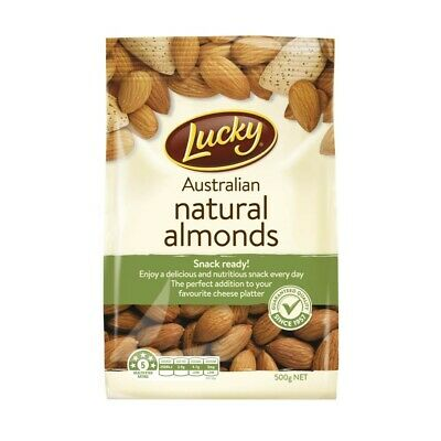 Lucky Natural Almonds 500g