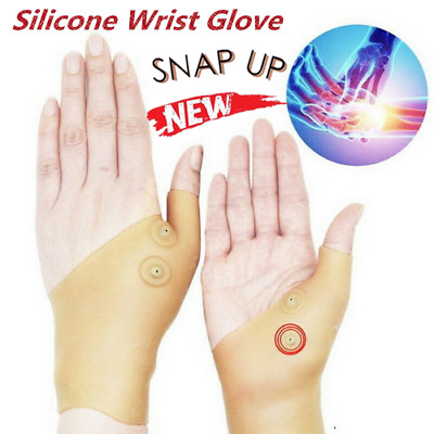 Latest Magnetic Thumb Pain Relief Therapy Glove Silicone Wrist Corrector MK7