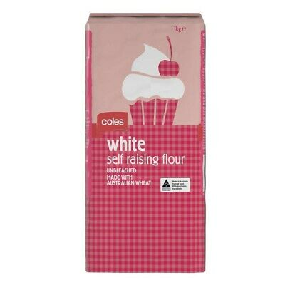 Coles White Self Raising Flour 1kg