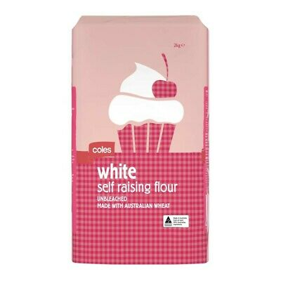 Coles White Self Raising Flour 2kg