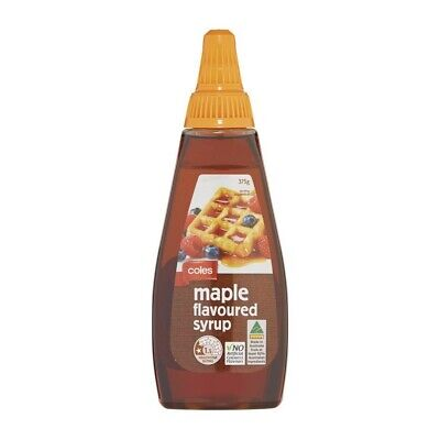 Coles Maple Syrup Flavoured 375g