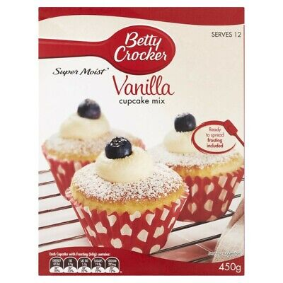 Betty Crocker Vanilla Cupcake Mix 450g