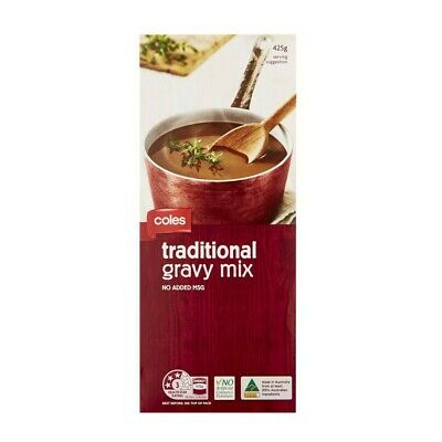 Coles Traditional Gravy Mix 425g