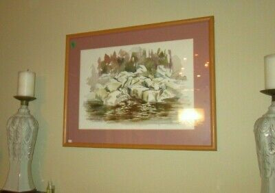 Original Landscape Watercolour Painting, Artist Signed & Very Nicely FRAMED