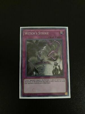 Witch's Strike - SAST-EN079 - Secret Rare - 1st Edition - Near Mint