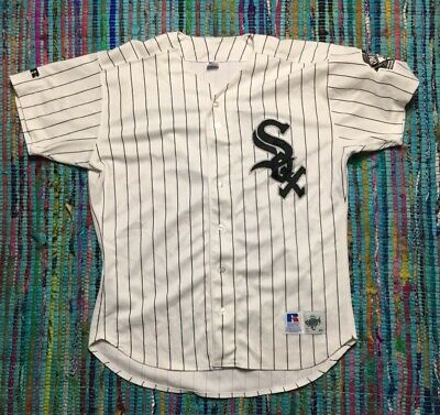 Russell Athletic MLB Chicago White SOX Jersey Authentic Diamond Collection sz 48