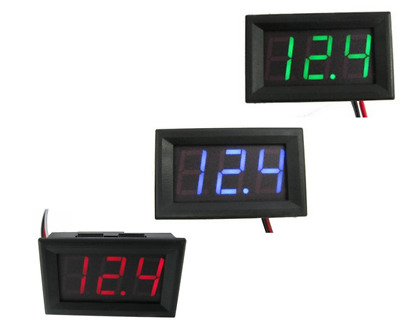 0.56 inch DC voltmeter three-wire 0-100V digital display battery electric car