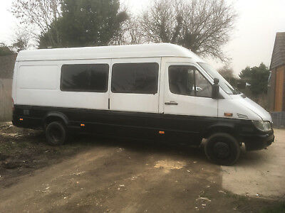 mercedes sprinter 416 down plated to 3500 part camper