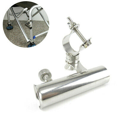Adjustable Clamp On Stainless Steel Fishing Rod Holder Boat Kayak Yacht Rail 1PC