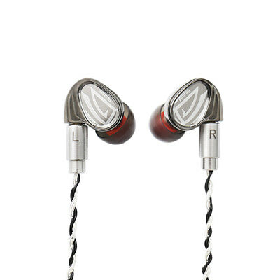 OSTRY KC07 Earphone Dual Unit Hybrid Technology In-Ear Earphones With MMCX Cable