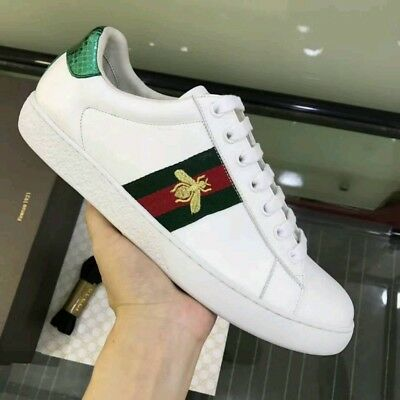 65d54d01f36 GENUINE AUTHENTIC GUCCI Ace Bee Trainers Sneakers Uk Size 6 ...