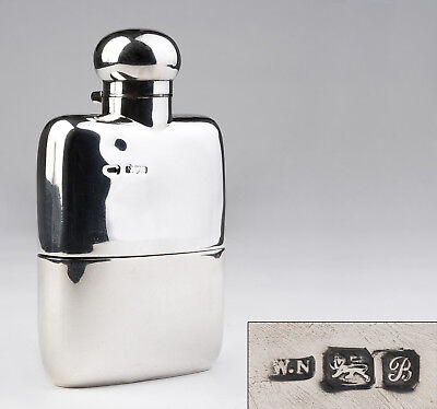 Sterling silver flask Chester 1902 very beautiful!