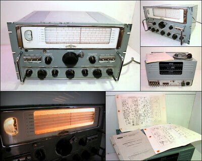1960's GEC BRT402KN Valve Tubes Communications Receiver