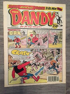 The Dandy Comic - Issue No. 2714 - November 27th 1993