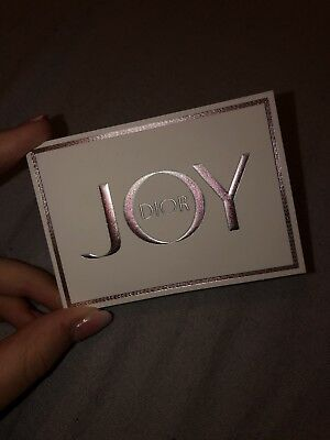 Exclusive Dior Joy 2018 Bookmark Accessory With Scented Card