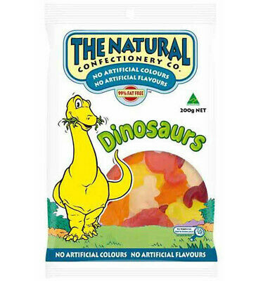 The Natural Confectionery Co. Dinosaurs 260g x 18