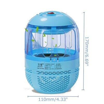 6 LED Light USB Electric Mosquito Killer Fly Bug Insect Zapper Trap Catcher Lamp