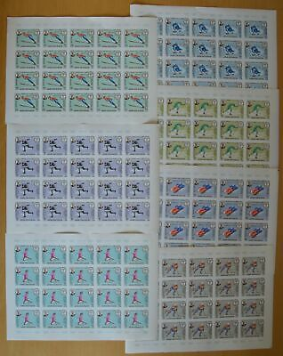 R611. Kathiri - MNH - Sport - Olympic - Full sheet - Wholesale - Imperf