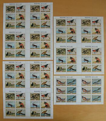 G611. Manama - MNH - Nature - Fishes - Animals - Full sheet - Wholesale