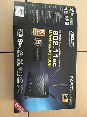 Asus RT-AC68U Dual-band Gigabit Router 802.1.1ac Wireless-AC1900