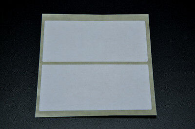 100 White Self Adhesive Parcel Address Blank Postage Labels 102Mm X 51Mm