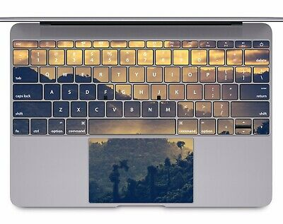 Macbook Pro Air 13 15 keyboard Stickers cover Decal skins landscape forest KB081