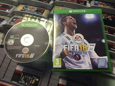 Boxed Microsoft Xbox One Game FIFA 18 Football Soccer GWO Free P+P