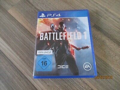 Playstation 4 Spiel = Battlefield 1 - 100% Uncut