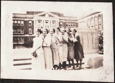 Vintage 1922 Miller Place New York B.s.h.s. Bay Shore High School Old Photo