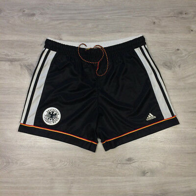 9dc62ce5e25 Germany 1998-2000 Home Football Soccer Adidas Vintage Shorts Rare size L