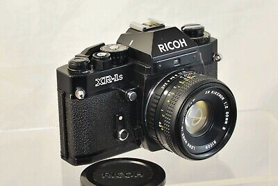 Ricoh XR-1s  Film SLR Camera with XR Rikenon 50mm f2 Lens EXCELLENT con
