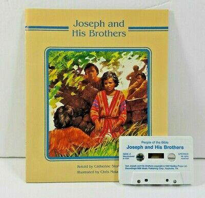 Bible Story Read Along with Cassette Joseph and his Brothers Illustrated 1988