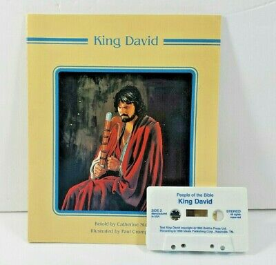 Bible Story Read Along with Cassette King David Illustrated 1988