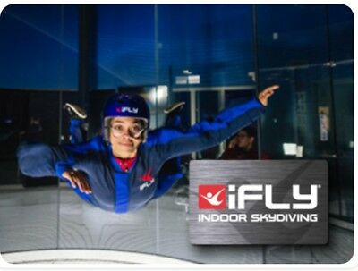 I-Fly Indoor Skydiving Gift Card $100