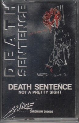 DEATH SENTENCE Not A Pretty Sight TAPE Vancouver Punk Rock 1985 SEALED