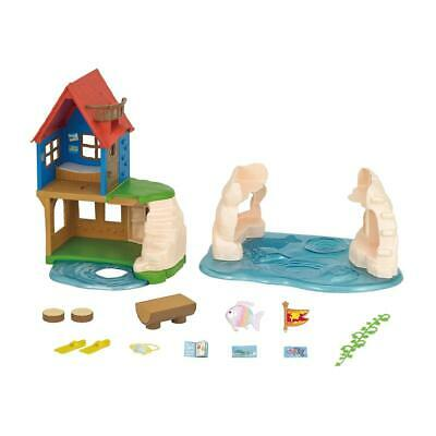 Sylvanian Families Island Playhouse Hiding Place Map Diving Goggle Flippers 5229