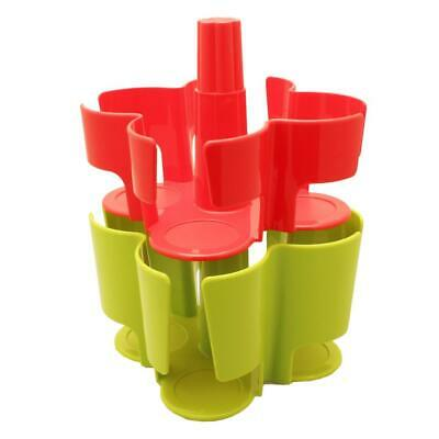 Tassimo Koziol Carousel T-Disc Holder, 2 Pieces, 40 T-Discs, Capsule Red, Green