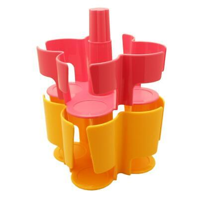 Tassimo Koziol Carousel T-Disc Holder, 2 Pieces, 40 T-Discs, Capsule Pink Yellow