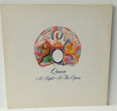 QUEEN A NIGHT AT THE OPERA/EMTC 103 - 1975 EMBOSSED COVER/1st PRESS LP VINYL
