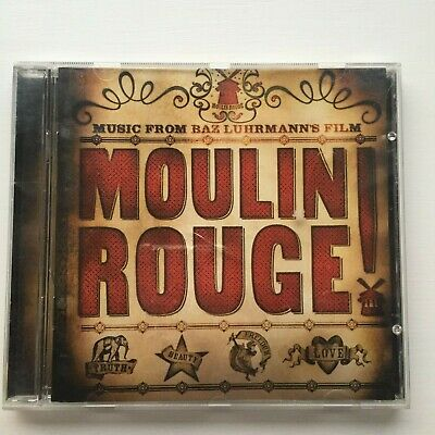 Music From Baz Luhrmann's Moulin Rouge CD Soundtrack