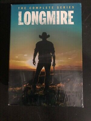 LONGMIRE the Complete Series Seasons 1-6 on DVD - Season 1 2 3 4 5 6 free shipp