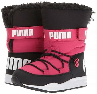 Youth Kids Puma Infant//Toddler Trinomic Snow Boot Sneaker 363979-03 Pink