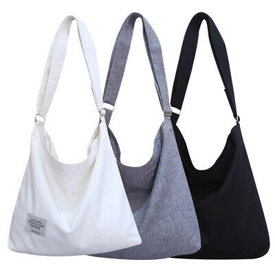 2b3fc4b196 New Women s Canvas Handbag Shoulder Messenger Bag Satchel Tote Purse Bags  Casual