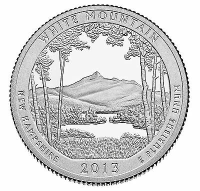 2013 White Mountain National Forest New Hampshire) P&d Set ***in Stock***