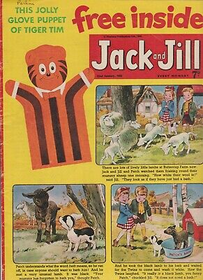 2  OLD   JACK and JILL  COMICS...1966....NICE  +  CLEAN....LOT  2